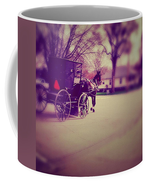 Photography Coffee Mug featuring the photograph Horse Power by Cassie Peters