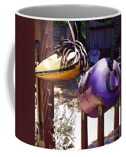 Sculpture Coffee Mug featuring the photograph Horse with no Name by Debbi Granruth