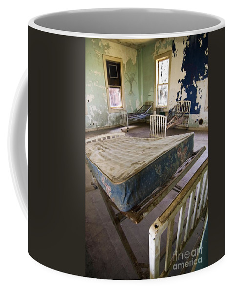 California History Coffee Mug featuring the photograph Hospital Bed Preston Castle by Norman Andrus