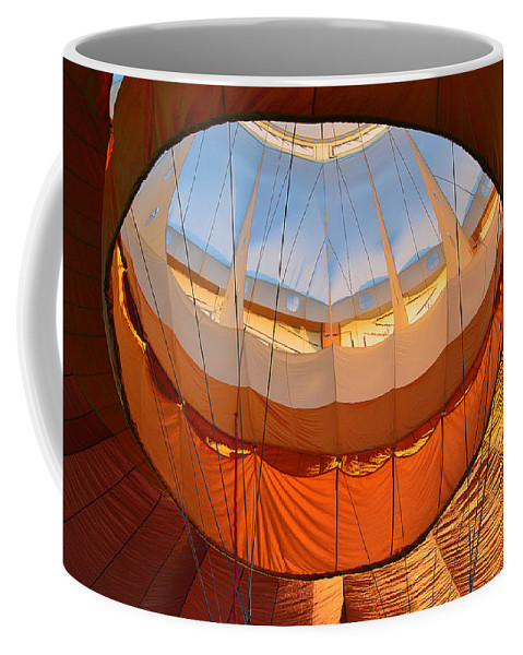 Coffee Mug featuring the photograph Hot Air Ballon 5 by Felicia Tica