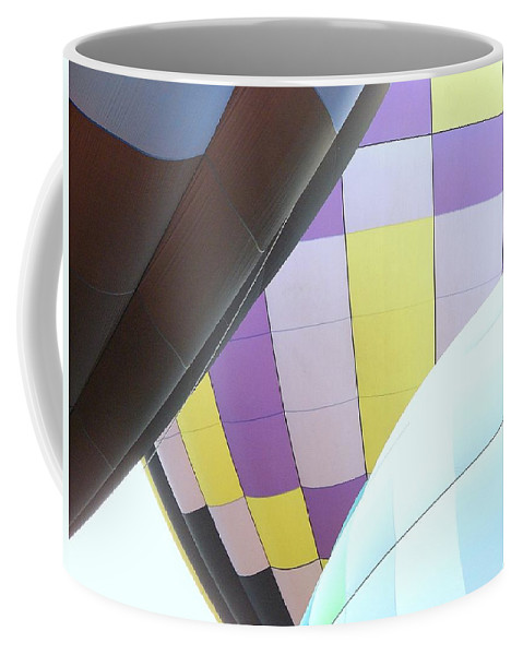 Balloons Coffee Mug featuring the photograph Hot Air Rising by J R Seymour