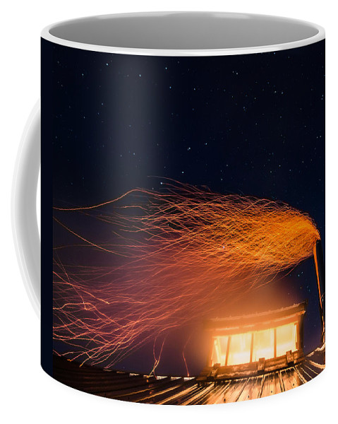 Vermont Coffee Mug featuring the photograph Hot At Night by Tim Kirchoff
