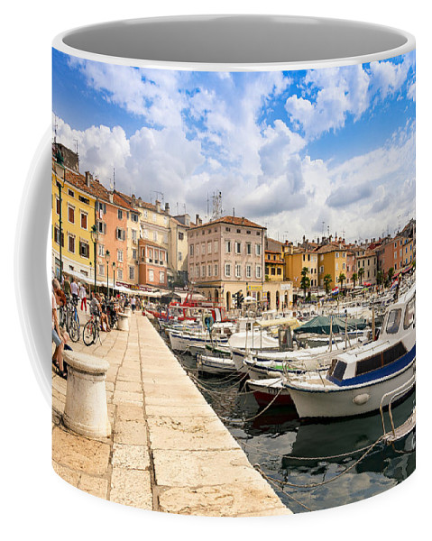 Architecture Coffee Mug featuring the photograph Hot Day by Svetlana Sewell
