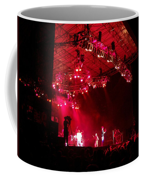 Creationfest 2007 Coffee Mug featuring the photograph Hot Night by R Chambers