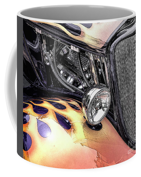 Car Coffee Mug featuring the photograph Hot Rod by Randy Waln