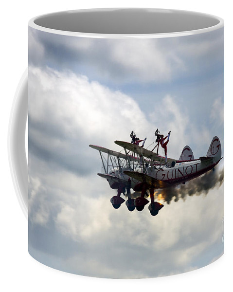 Team Guinot Coffee Mug featuring the photograph Hot Windwalkers by Angel Ciesniarska