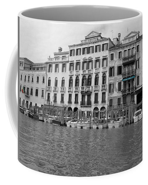 Cityscape Coffee Mug featuring the photograph Hotel Ovidius II by Dylan Punke