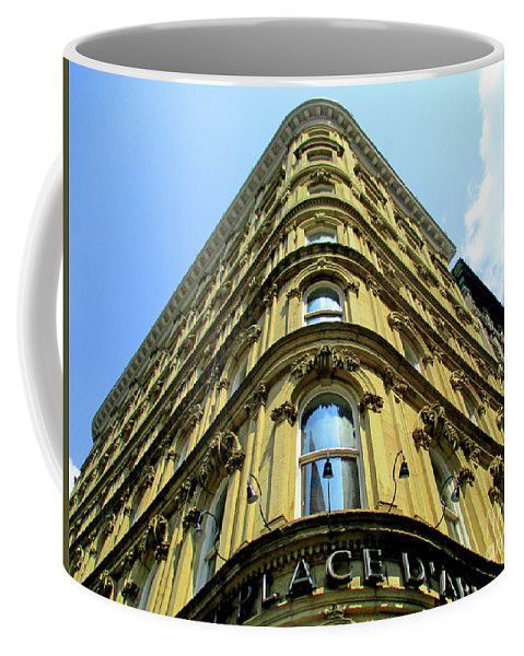 Montreal Coffee Mug featuring the photograph Hotel Place D'armes 2 by Randall Weidner