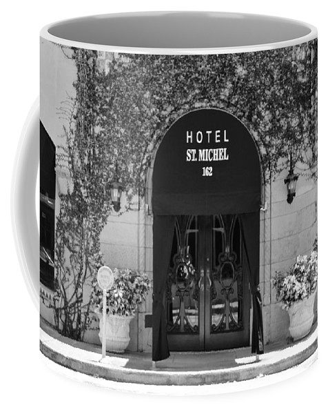 Kerisart Coffee Mug featuring the photograph Hotel St Michel by Keri West