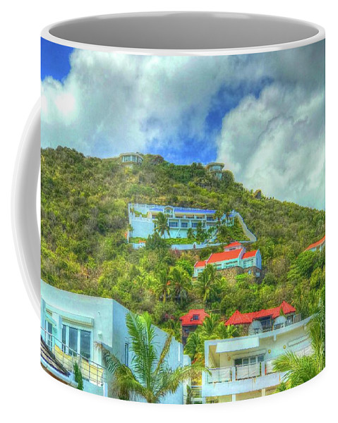 House Coffee Mug featuring the photograph House On The Hill by Debbi Granruth