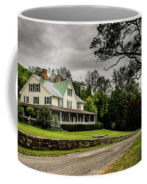 House Coffee Mug featuring the photograph House by Victor Dossantos