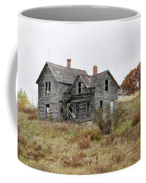 Old Farms Coffee Mug featuring the photograph House With A View by Bjorn Sjogren