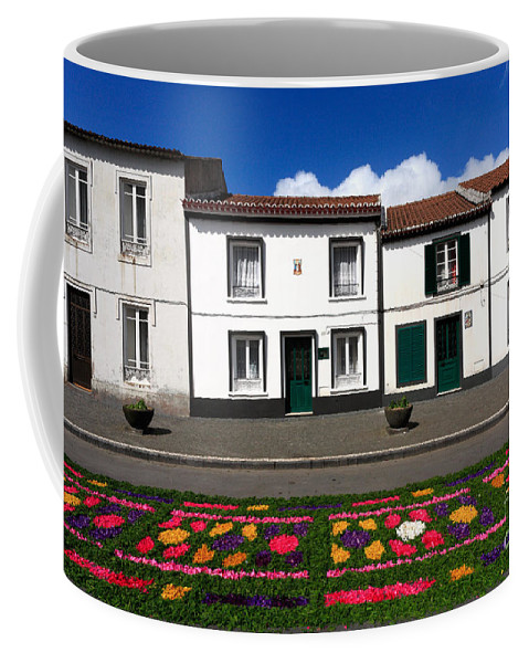 Azores Coffee Mug featuring the photograph Houses In The Azores by Gaspar Avila