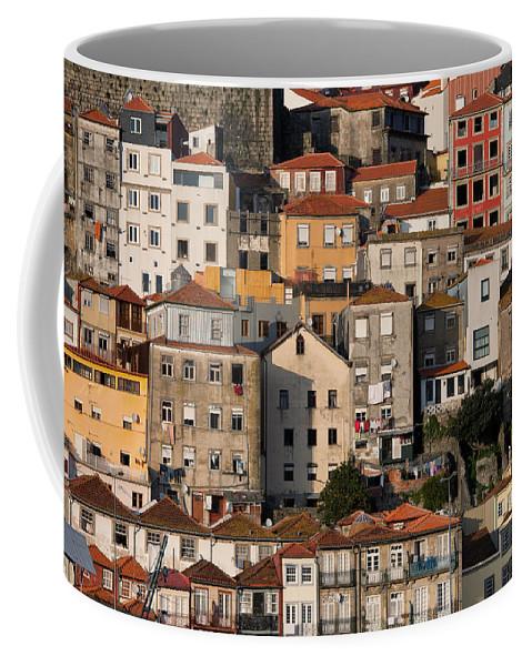 Porto Coffee Mug featuring the photograph Houses Of Porto In Portugal by Artur Bogacki