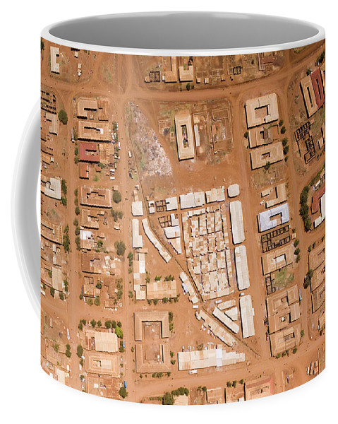 Landscape Coffee Mug featuring the photograph Houses With Central Courtyards by Michael Fay