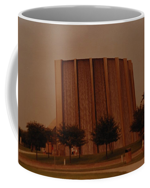 Water Coffee Mug featuring the photograph Houston Waterfall by Rob Hans