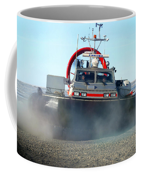 Hover Craft Coffee Mug featuring the photograph Hover Craft by Anthony Jones
