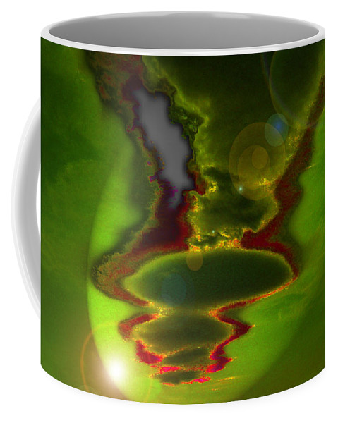 Surreal Coffee Mug featuring the photograph Hovering by Mykel Davis
