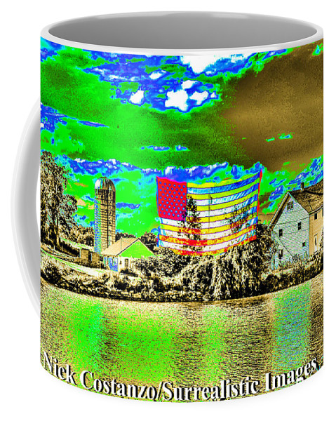 Fine Art Photography Coffee Mug featuring the photograph How I See It by Nicholas Costanzo