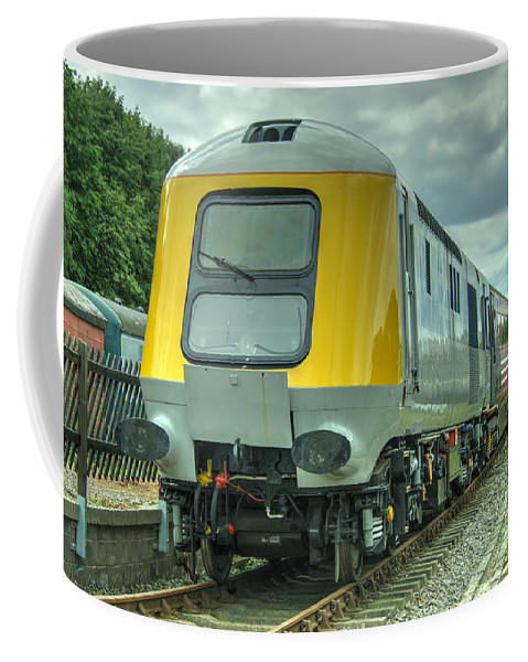 Br Coffee Mug featuring the photograph Hst Prototype by Rob Hawkins