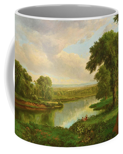 William Mason Brown Coffee Mug featuring the painting Hudson River by William Mason Brown