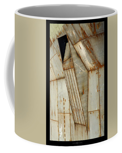Hull Coffee Mug featuring the photograph Hull Detail by Tim Nyberg