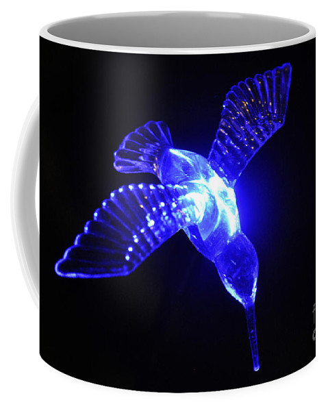 Clay Coffee Mug featuring the photograph Humming Bird Light by Clayton Bruster