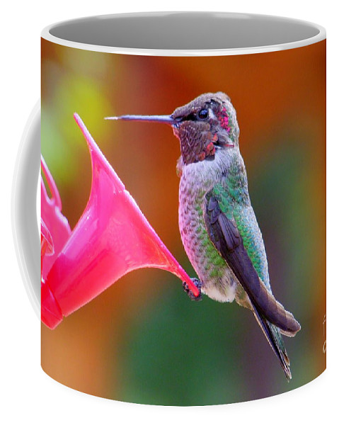 Bird Coffee Mug featuring the photograph Hummingbird - 28 by Mary Deal