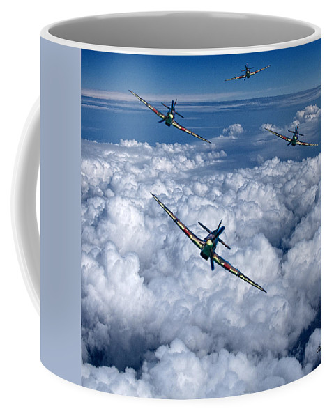 Hawker Coffee Mug featuring the photograph Hurricanes On Your Tail by Chris Lord
