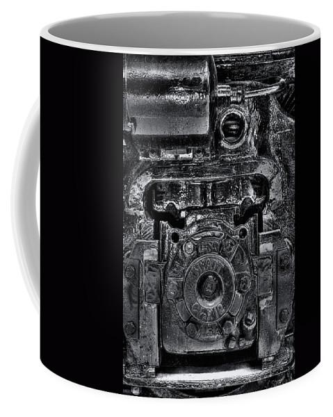 Train Coffee Mug featuring the photograph Hyatt Bearings by Scott Wyatt