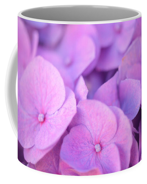 Hydrangea Coffee Mug featuring the photograph Hydrangea Flowers by Giovanni Allievi