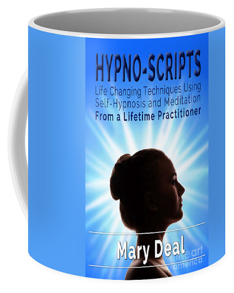 Book Covers Coffee Mug featuring the photograph Hypno-scripts by Mary Deal