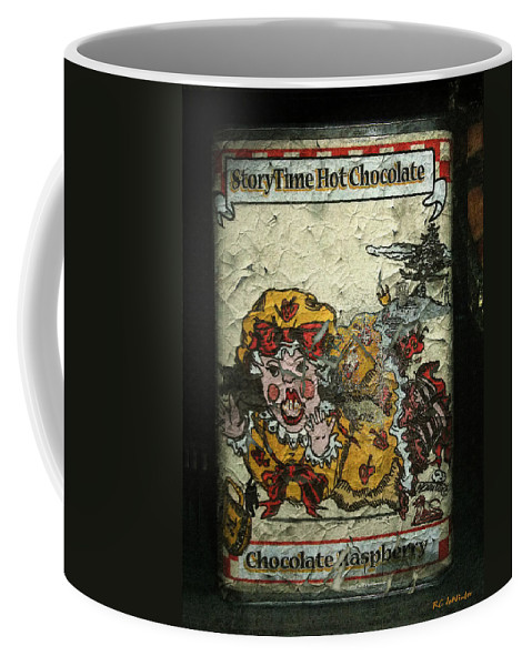 Ancient Coffee Mug featuring the painting I Dont Want Any by RC DeWinter