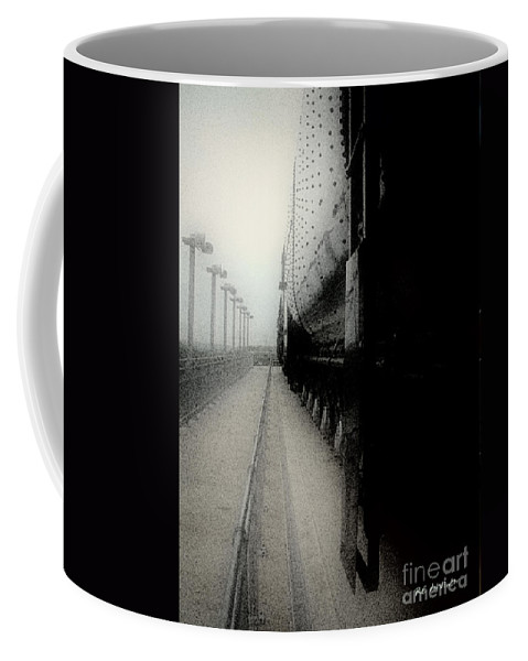 Train Coffee Mug featuring the digital art I Hear That Lonesome Whistle Blow by RC DeWinter