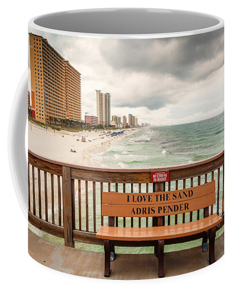 Clouds Coffee Mug featuring the photograph I Love The Sand by Gary Oliver