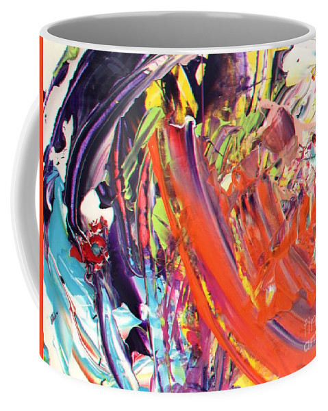 Acrylic Coffee Mug featuring the painting I Remember by Dirk Weed