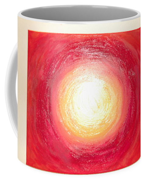Stole The Sun Coffee Mug featuring the painting I Stole The Sun From The Sky For You by Julie Jones