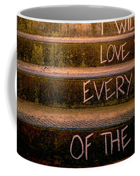 Love Coffee Mug featuring the photograph I Will Love You 2 by Bob Orsillo