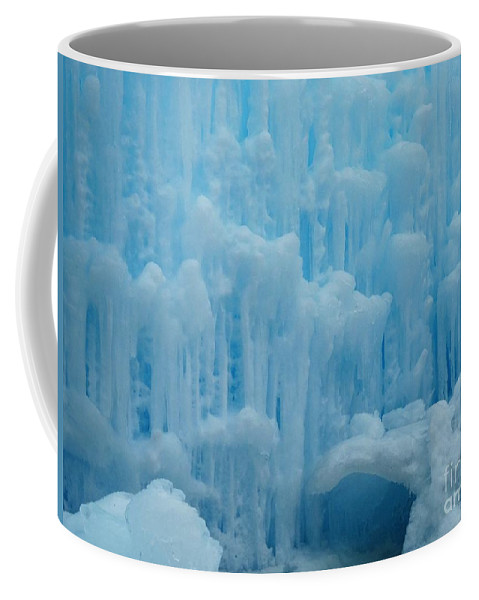Ice Castles Coffee Mug featuring the photograph Ice Castles In Lincoln New Hampshire -2 by Gina Sullivan