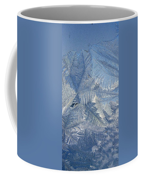 Ice Coffee Mug featuring the photograph Ice Crystals by Rhonda Barrett