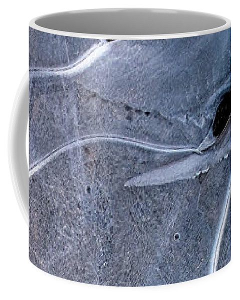 Ice Coffee Mug featuring the photograph Ice Phantom by Alpha Pup
