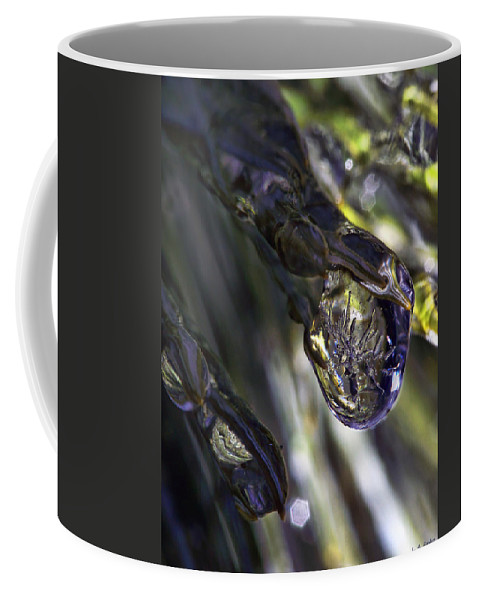 Macro Coffee Mug featuring the photograph Ice Storm IIi by Lauren Radke