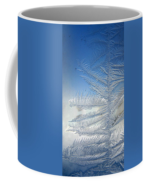 Ice Coffee Mug featuring the photograph Ice Tree by Rhonda Barrett