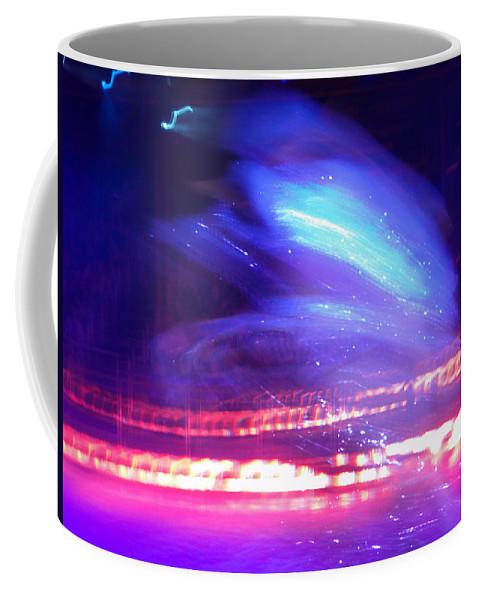 Icedance Coffee Mug featuring the digital art Icedance by Are Lund