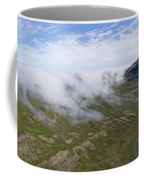 Landscape Coffee Mug featuring the photograph Iceland 9 by Valeriy Shvetsov