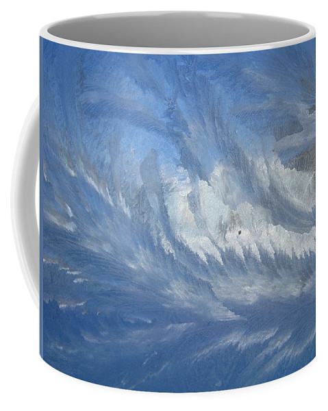 Ice Coffee Mug featuring the photograph Icescapes 1 by Rhonda Barrett