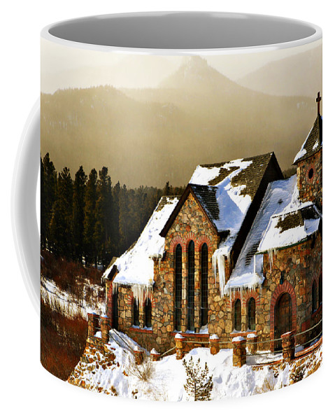 Americana Coffee Mug featuring the photograph Icicles by Marilyn Hunt