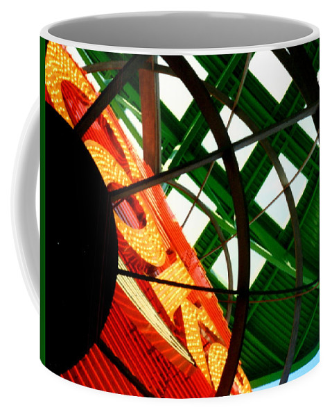 Coke Coffee Mug featuring the photograph Icon by Paul Wilford