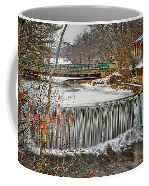 Blur Coffee Mug featuring the photograph Icy Conditions by Evelina Kremsdorf