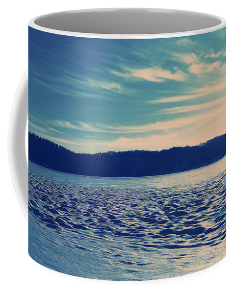 Winter Coffee Mug featuring the photograph Icy River by Paul Kercher